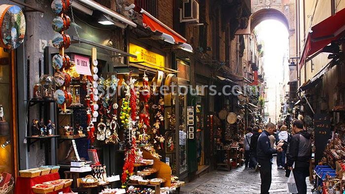 Naples city san gregorio